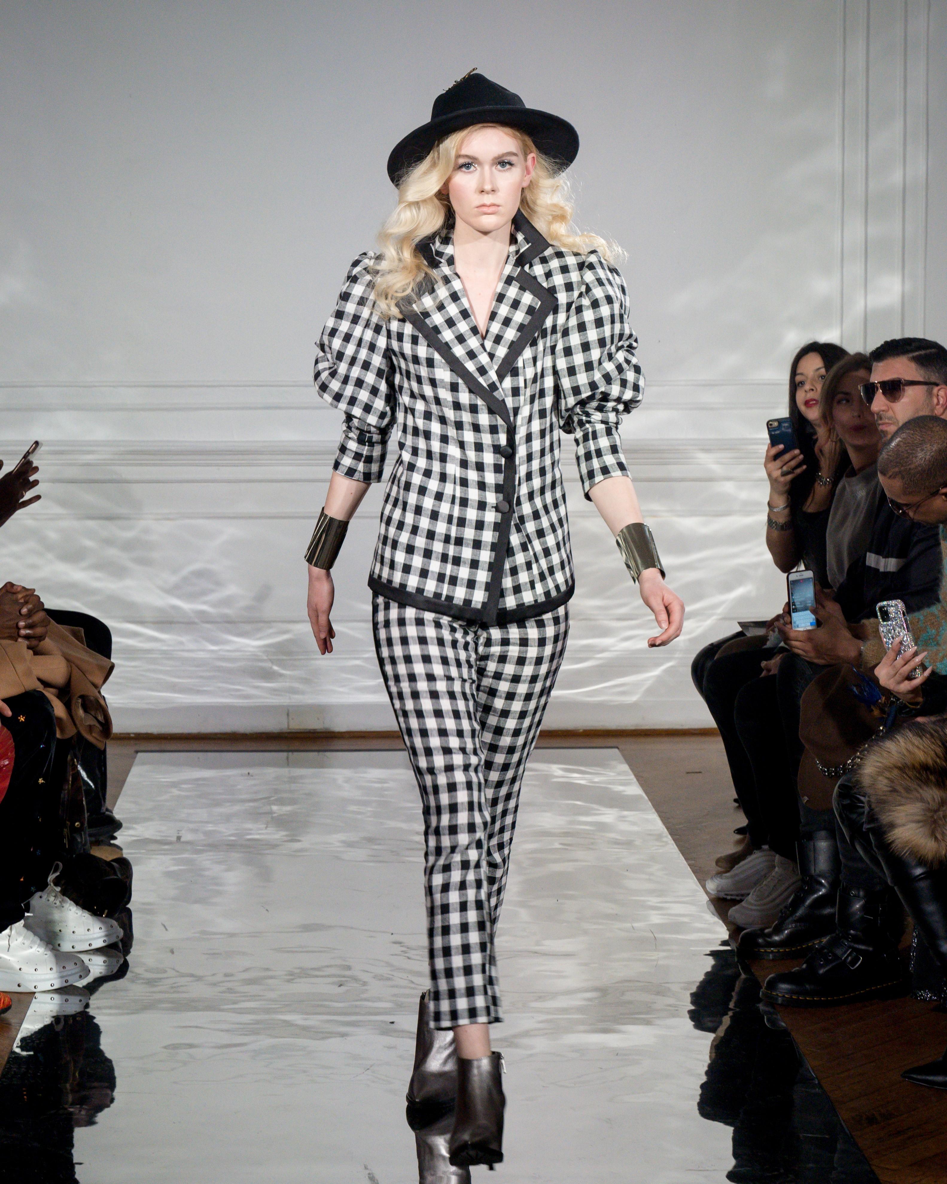 New York Fashion Week: Rossi Tuxedo F/W 2020 by Paola Rossi