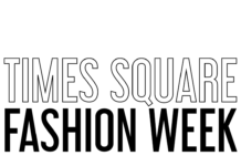 Lights! Camera! Times Square Fashion Week kicks off a Digital Fashion Experience on a NYC Double Decker Bus!